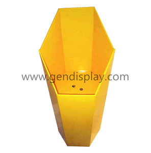 Promotion Cardboard Snacks Bins Display, Dump Bin Display(GEN-DB003)