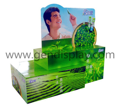 Supermarket Cardboard Pallet Display Stand (GEN-PD009)