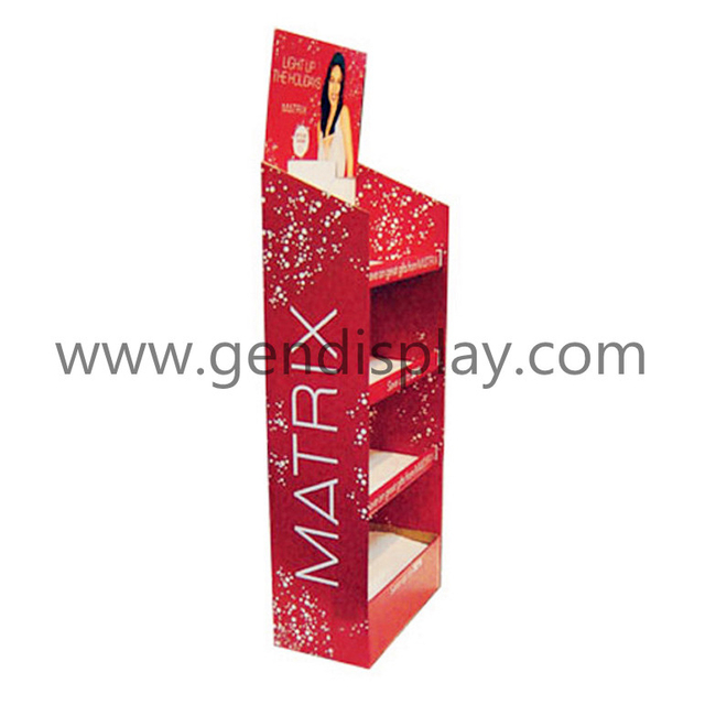 Cardboard Make Up Display , Pop Custom Cosmetic Display (GEN-FD097)