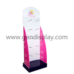 POP Full Color Printing Hooks Cardboard Cosmetic Display (GEN-HD003)