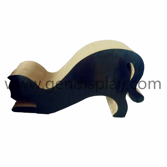 Paper Black Color Cat Scracther Toys (GEN-CS010)