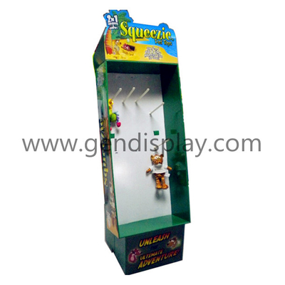 Custom Pop Cardboard Toys Hooks Display Stand (GEN-HD011)