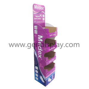 Lady Napkin Floor Display Stand, Custom Napkin Display (GEN-FD302)