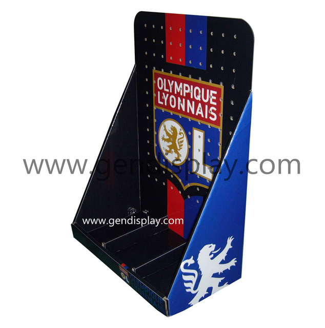 Cardboard Flag Countertop Display Box(GEN-CD037)