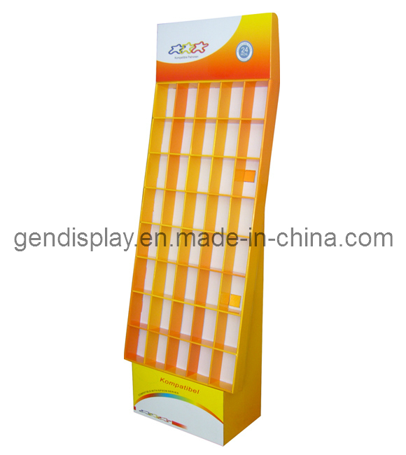 Pos Cardboard Cosmetic Counter Display Stand (GEN-CD002)
