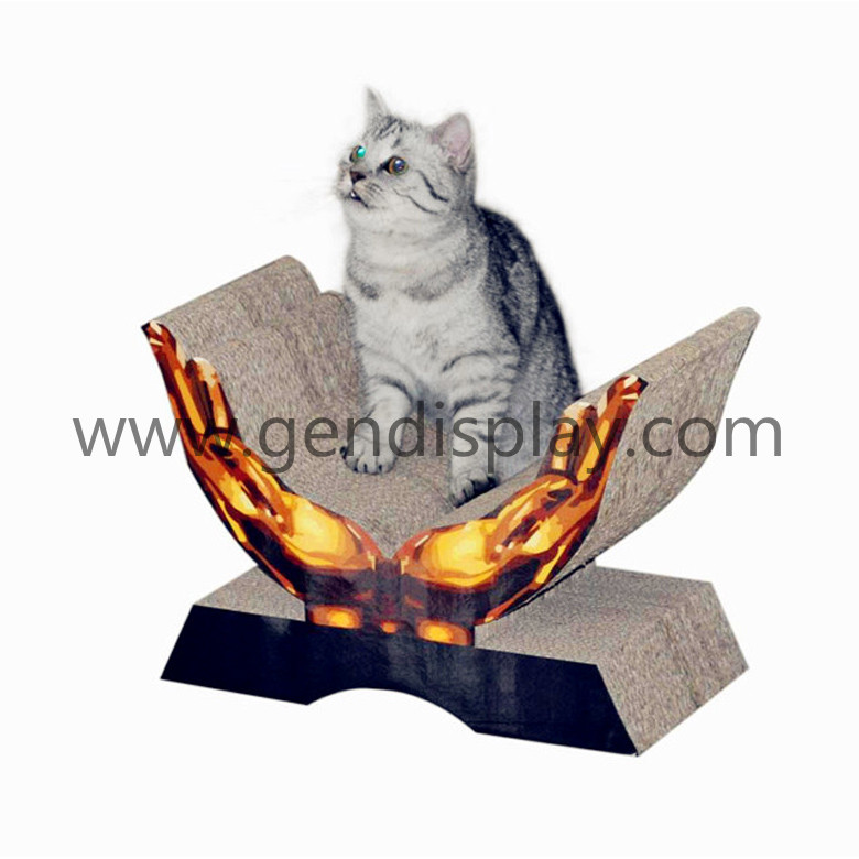 Corrugated Paper Cat Toys Bed (GEN-CS012)