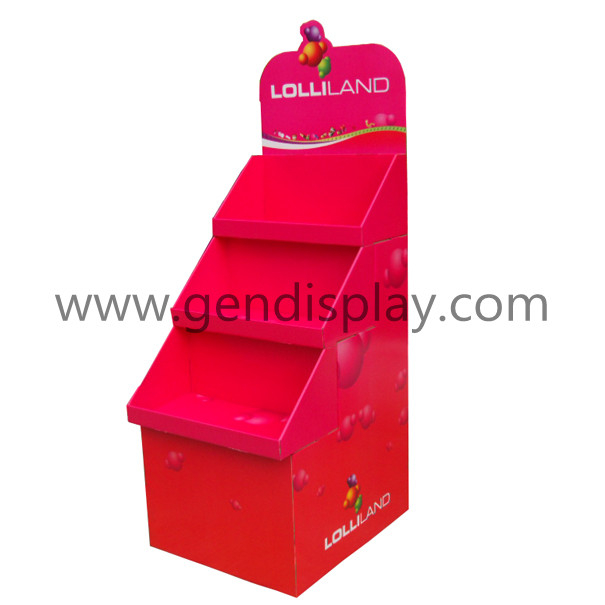 Candy Display Stand , Pop Candy Display Shelf(GEN-FD241)