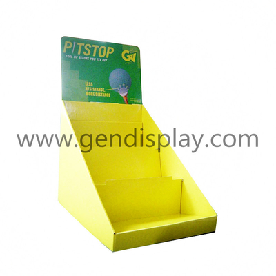 Cardboard Counter Display Stand, Balls Counter Display (GEN-CD017)
