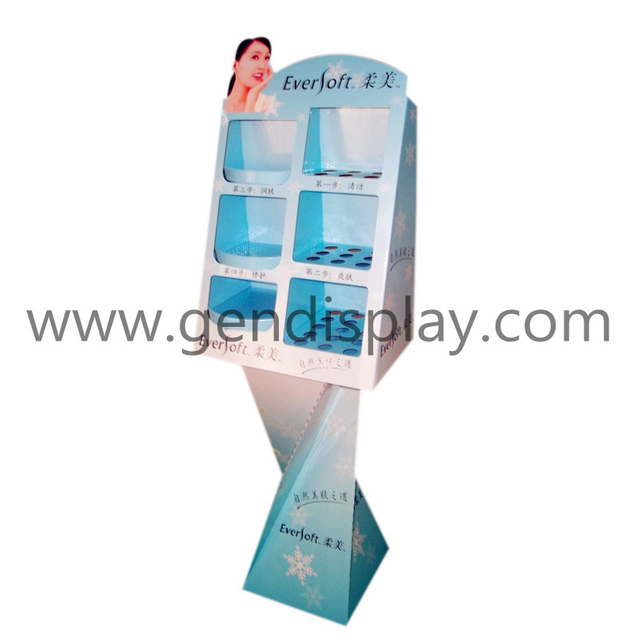 Custom Cosmetic Floor Display , Make Up Display (GEN-FD020)