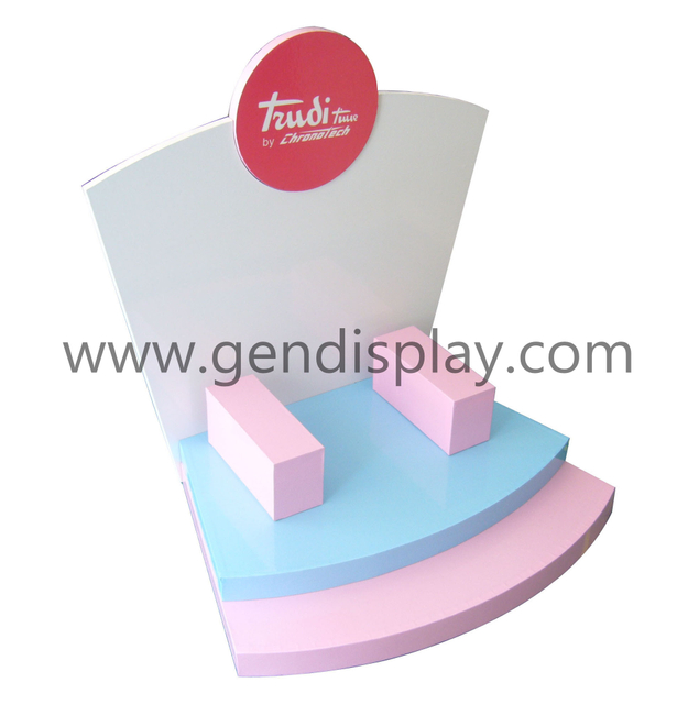 Promotion Pos Paper Gift Counter Display Stand(GEN-CD046)