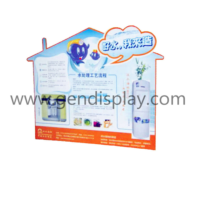 Cardboard Countertop Standee Display, Custom Standee Display (GEN-SD033)