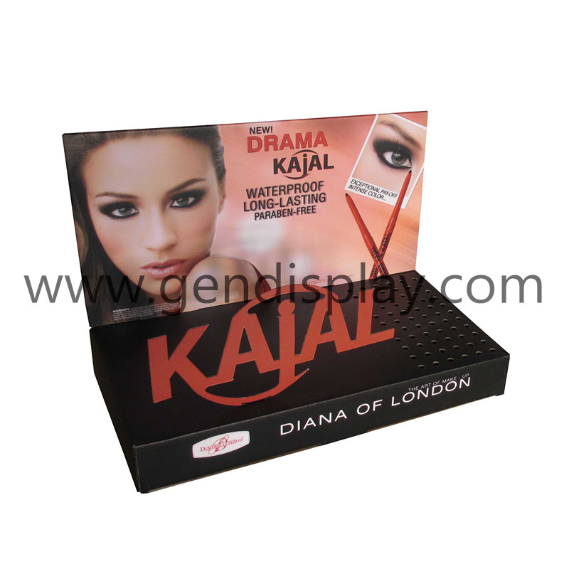 Promotional Eyeline Counter Display Stand, Cardboard Cosmetic Display(GEN-CD230)