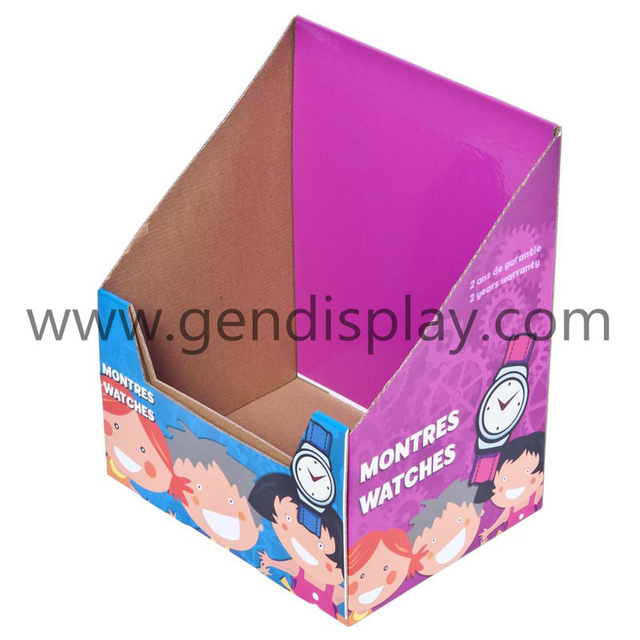 Custom Cardboard Counter Display Box For Watches (GEN-CD090)