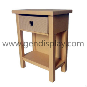 Cardboard Furniture, Corrugated Desk with Drawer (GEN-CF005)