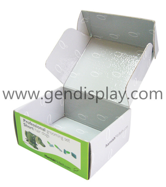 Cardboard PDQ Box , Custom Counter Display(GEN-PDQ003)