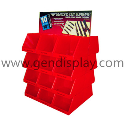 Pop Pallet Display , Knife Pallet Display Shelf (GEN-PD018)