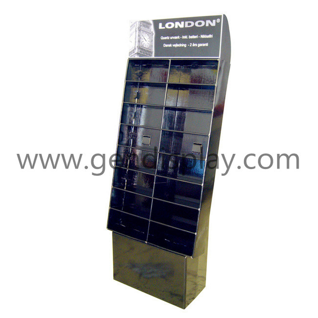 Corrugated Paper Display Unit, Floor Toys Display Stand (GEN-FD050)