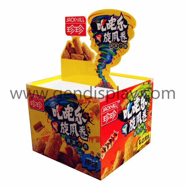 Cardboard Pallet Display ,Snack Pallet Display (GEN-PD050)