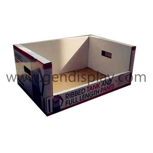 Pos Cardboard Garments Counter Display Box (GEN-PT001)