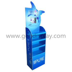 Cosmetic Floor Display Stand, Pos Cosmetic Display Unit (GEN-FD321)
