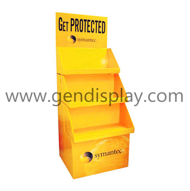 Pos Cardboard Trapeziform Display , Pop Floor Toys Display(GEN-FD081)