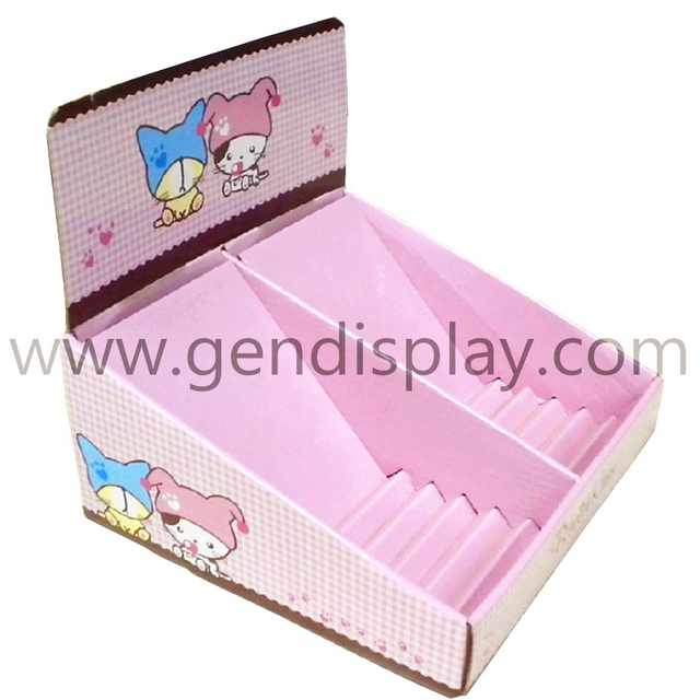 Promotional Toys Countertop Display Box(GEN-CD065)
