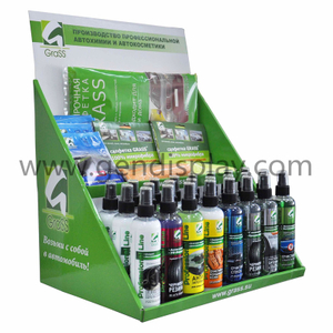 Cardboard Bottles Counter Display , Custom Counter Display (GEN-CD244)
