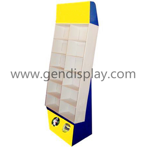 Cardboard Compartments Floor Display Unit For Toys(GEN-CP155)
