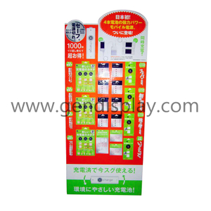 Custom Cardboard Phone Accessories Standee Display(GEN-SD029)