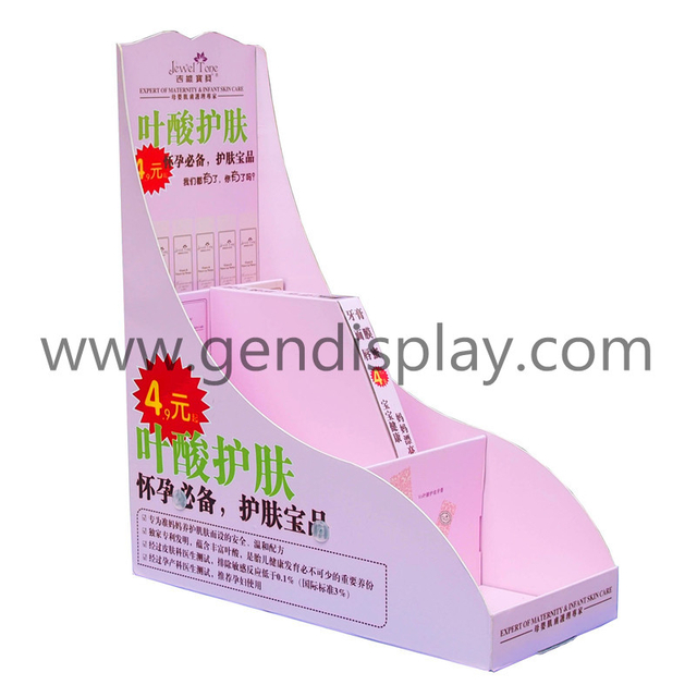 Cardboard Pop Candy Counter Display Box, POS Candy Countertop Display (GEN-CD175B)
