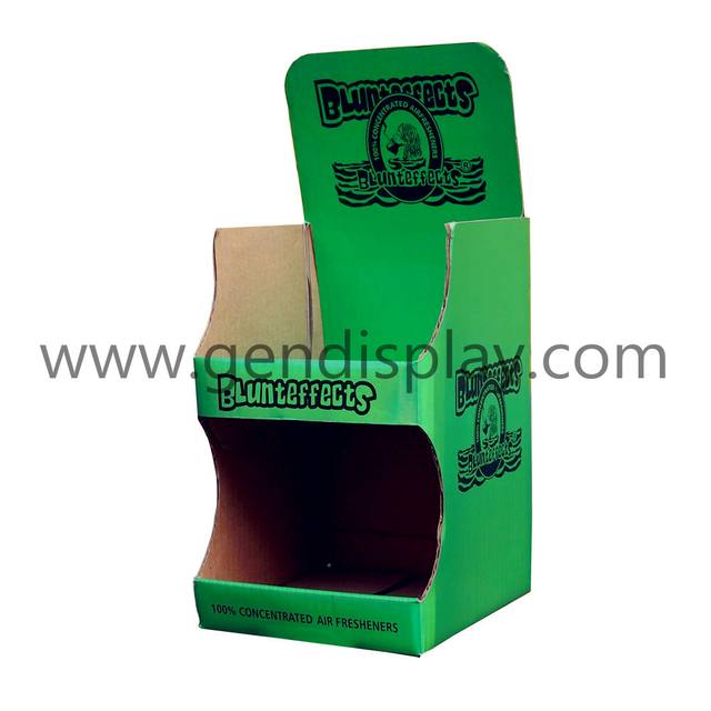 Custom Cardboard Counter Display Stand For Fresheners(GEN-CD168)