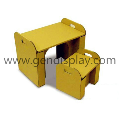 Advertising Paper Cardboard Furniture, Custom Paper Furniture (GEN-CF009)