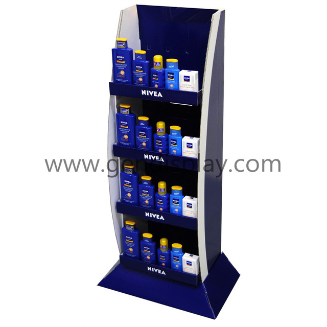 Nivea Supermarket Floor Display, Cardboard Cosmetic Display (GEN-FD243)