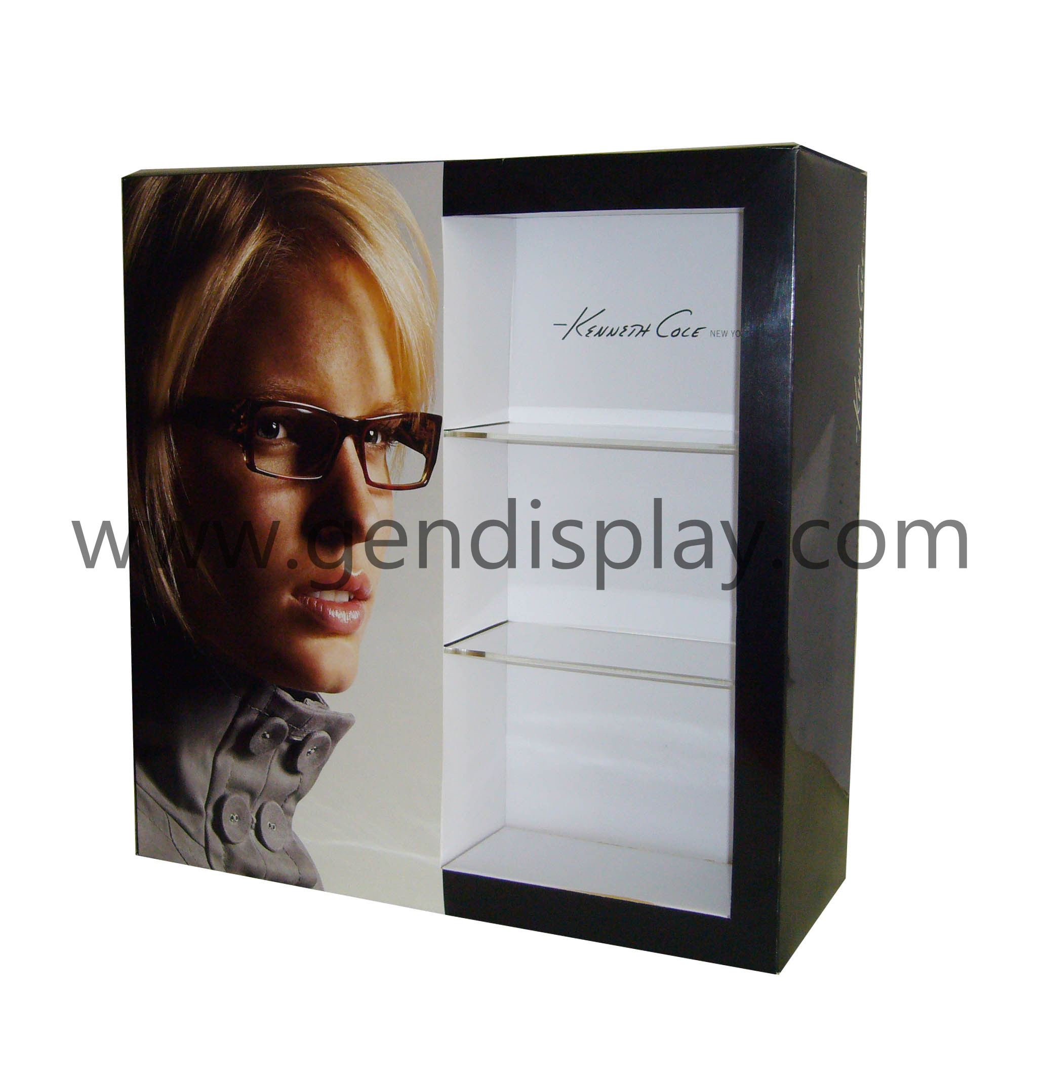 Custom Cardboard Glasses Counter Display (GEN-CD021)
