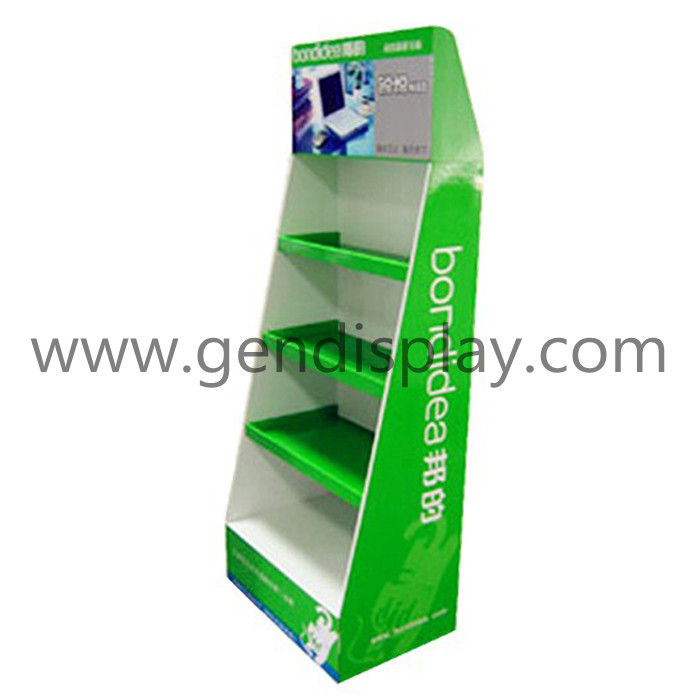 Corrugated Toys Display, Pos Toys Floor Display (GEN-FD083)