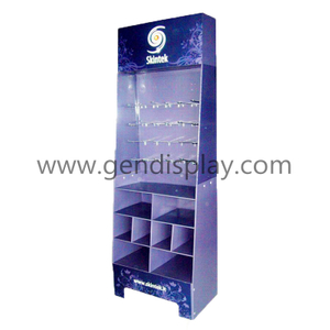 Hooks Display Stand ,Cardboard Hooks Display Unit(GEN-HD012)